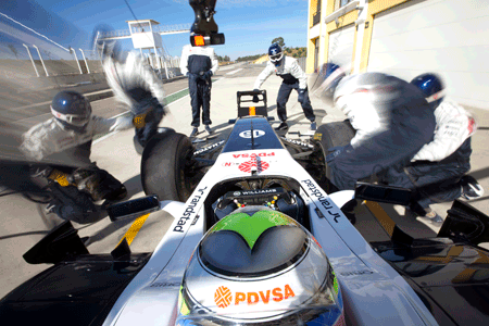 WIlliams Racing Team en Randstad